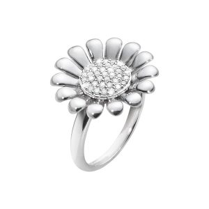 sunflower ring sterling silver 3