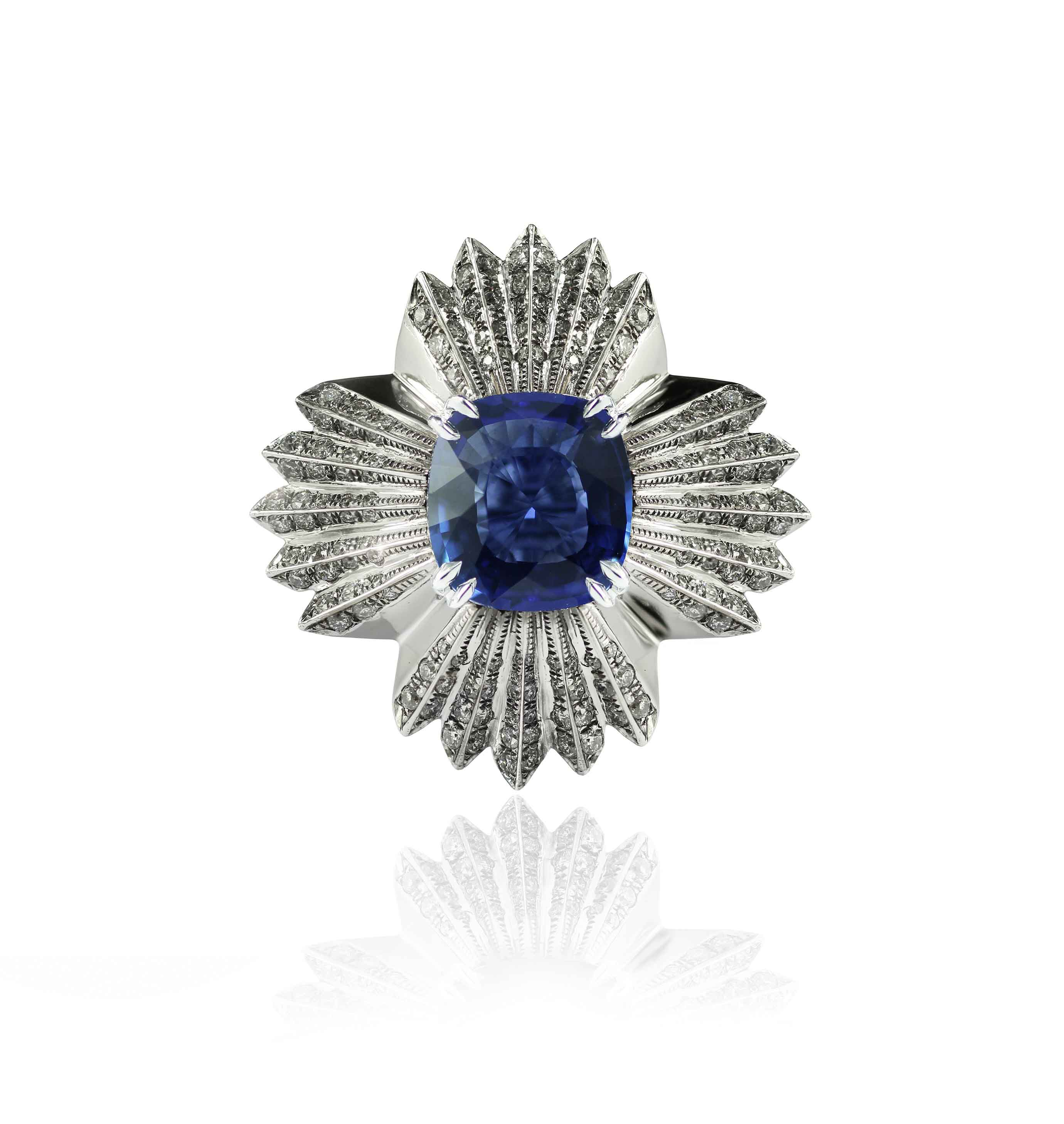 floral ring , melville jewellery