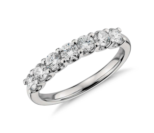 Luna Seven Stone Diamond Ring