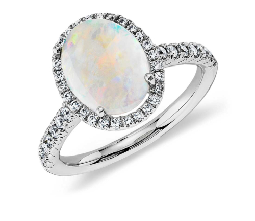 Opal Engagement Rings 14 From Affordable To Luxury