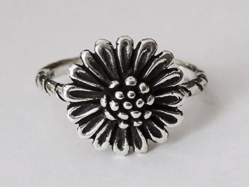 SOVATS Sunflower Antique Blossoming Style Ring