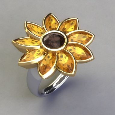 Sunflower Ring ($650)