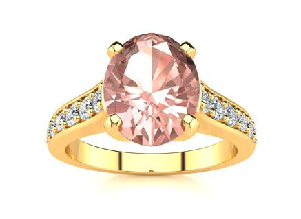 Superjeweler, 2-carat-oval-shape-morganite-and-diamond-ring-in-14-karat-yellow-gold