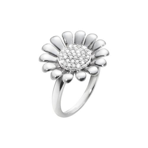 Georg Jensen, Sunflower Ring Large ($525)